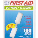 BUTTERFLY CLOSURES, medium, 100 per box