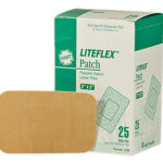 ELASTIC CLOTH PATCH BANDAGES, 25 per box