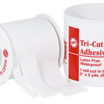 "ADHESIVE TAPE, TRI-CUT, 2""X5 YARDS, SPOOL"