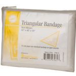 TRIANGULAR BANDAGE, WHITE, 1/BAG