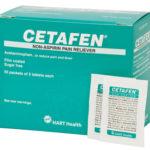 CETAFEN NON-ASPIRIN, 50/2'S BOX