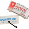 SPLINTER OUT, STERILE, DISPOSABLE, 10/PACK