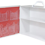 2 Shelf First Aid Cabinet - Pediatric - Stocked