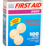 ADHESIVE BANDAGES, SPOT, 100/BOX