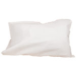 PILLOW CASES, PAPER, WHITE, 100/BOX