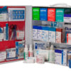 Food Services First Aid Station, Blue Bandages, 3 Shelf , Stocked