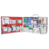 First Aid Station, ANSI 2015 Class A, 2 Shelf, Stocked