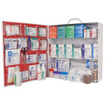 First Aid Station, ANSI 2015 Class A, 3 Shelf, Stocked