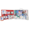 First Aid Station, ANSI 2015 Class B, 2 Shelf, Stocked