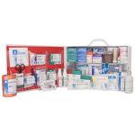 First Aid Station, ANSI 2015 Class B, 2 Shelf, Stocked