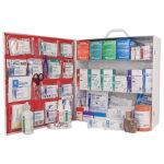 First Aid Station, ANSI 2015 Class B, 3 Shelf, Stocked