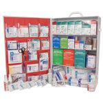 First Aid Station, ANSI 2015 Class B, 4 Shelf, Stocked